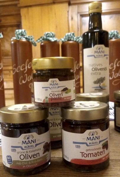 OLIVEN sind unsere Natur - Olivenpaste ab 3,50 € - Oliven ab 4,50 € und Olivenöl ab 9,90 €